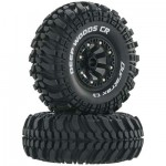 Duratrax Deep Woods 2.2″ Scale/Crawler Tires in Mounted*