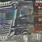 Tamiya Mercedes-Benz Actros 3363 6×4 GigaSpace Tractor Trailer
