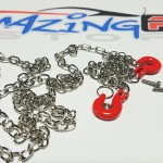 RC 1/10 Scale Metal Drag Chain- Silver*