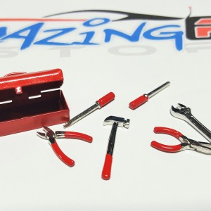 RC Metal Tool Box Red*