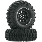 Duratrax Deep Woods 1.9″ Scale/Crawler Tires C3 Mounted*