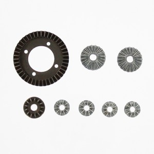 BS803-027 – Ring (43T), Pinion (13T), and Spider Gears*