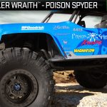 Jeep® Wrangler Wraith-Poison Spyder Rock Racer 1/10th Scale Electric 4WD – RTR