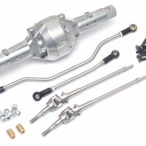 PHAT™ Axle w/ Stainless Steel Steering Links & Universals Silver*