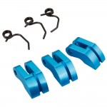 3 pc Blue Aluminum Clutch for 1/8 scale*