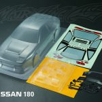 Nissan 180 Body Shell 195mm +