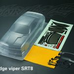 Dodge Viper SRT8 Body Shell 190mm +