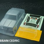 NISSAN CEDRIC Clear Body Shell 190mm +