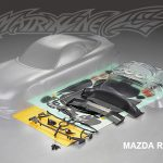 Mazda RX-7 Clear Body Shell 195mm +