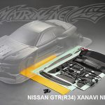Nissan GTR R34 Xanavi Nismo Body Shell 195mm
