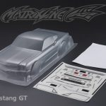 Ford Mustang GT Clear body 190mm +