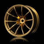 MST Gold G25 wheel set (+11) – 4 pcs for 1/10 Scale Car*