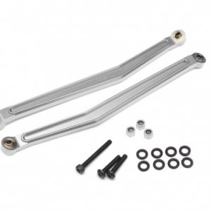Aluminum Rear Upper Links for Axial Yeti – 1 Pair Silver
