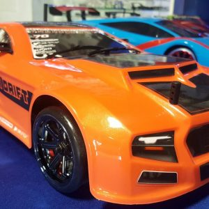 Thunder Drift 1/10 Scale Belt Drive On Road Car (Orange)