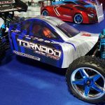 Tornado EPX PRO 1/10 Scale Brushless Buggy Blue/Silver