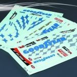Goodyear Racing Zero Crown Decal Sheet*