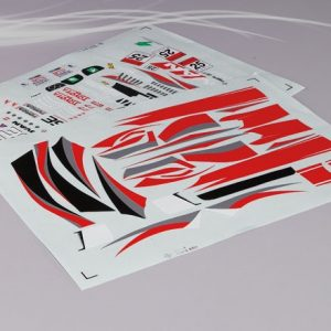 Lexus SC430 Dtm Decal Sheet