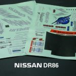Nissan AE86 Decal Sheet*