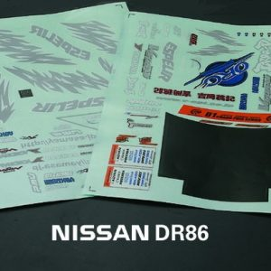 Nissan AE86 Decal Sheet