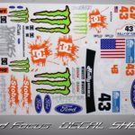 Ford Focus Decal Sheet