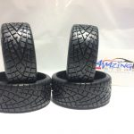 On Road Rubber Drifting Tire for 1/10 Scale Set of 2- Black*