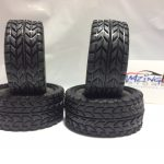 On Road Rubber Drifting Tire for 1/10 Scale Set of 4- Black*