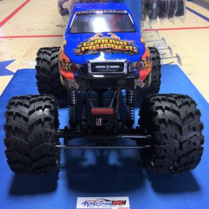 Ground Pounder 1/10 Scale 4WD Electric Monster Truck
