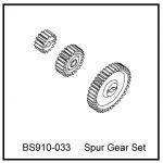 BS910-033 – Gear set (21T/15T/40T)+