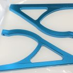 Aluminum Rear Upper Suspension Arm for Traxxas E-REVO (Blue)*
