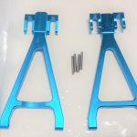 Aluminum Rear Lower Arm for Traxxas E-REVO (Blue)*