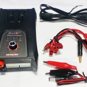 H6 AC/DC Compact Fast Charger- 5A (LiPo/ LiFe)*