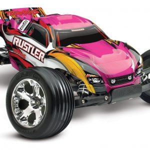 1/10 Scale Truck Traxxas Rustler XL-5® Waterproof Pink