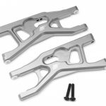 Aluminum Lower Front Control Arms Set – 1 Pair Silver+