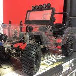 GMade Sawback Sports 4WD 1/10 Scale Electric – Clear Body