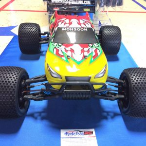 Monsoon XTR 1/8 Scale Nitro 4WD Truggy  2.4GHz Radio