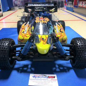 Hurricane XTR Buggy 1/8 Scale 4WD Nitro- 2.4 GHz Radio