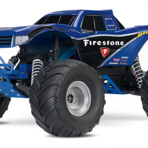 The Traxxas Original Monster Truck Bigfoot Firestone – Blue
