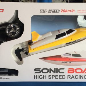 SONIC 14 High- Speed Brushed 20km/h Racing Boat