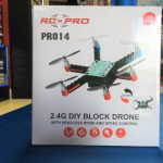 RC PRO14 – 2.4G 4 Channels DIY Block Drone Assembly Kit