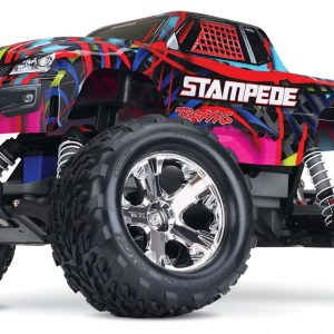 The Traxxas Stampede XL-5 1/10 Waterproof Hawaiian Edition