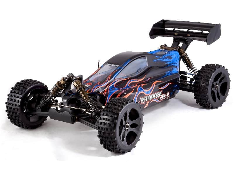 4 Wheel Drive Buggy : Rampage xb e scale wheel drive electric brushless
