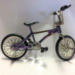 Scale Aluminum Mini Bike – Purple (1pc)*