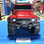 Traxxas TRX4 Land Rover Defender 1/10 Crawler Red