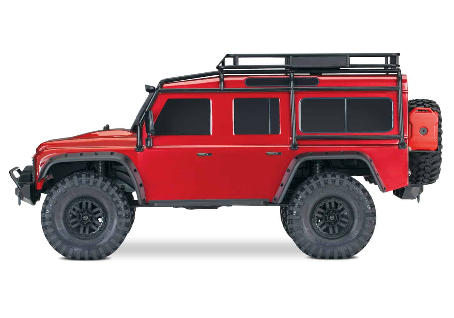 Traxxas Trx4 Land Rover Defender 1 10 Crawler Red
