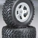 SCT Off Road Tire and Wheel for 1/16 Scale Traxxas Slash (Set of 2)*
