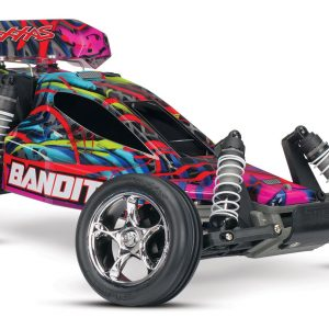 The Traxxas Bandit XL-5 1/10 Scale RTR Buggy Courtney Force