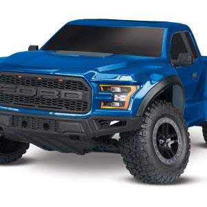 The Traxxas 2017 Ford Raptor RTR 1/10 Scale 2WD Truck Blue