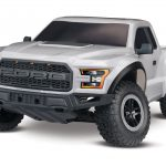 The Traxxas 2017 Ford Raptor RTR 1/10 Scale 2WD Truck White