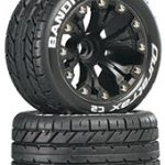 DuraTrax Bandito ST 2.8 Truck 2WD Mntd Front C2 Black (2)*