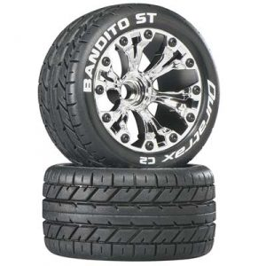 DuraTrax Bandito ST 2.8 Truck 2WD Mounted Fr C2 Chr (2)*